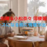 菅田将暉&小松菜奈 同棲報道 ニュースになる前に情報が出てた?