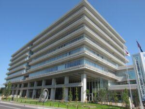 平塚市役所本館の市長室